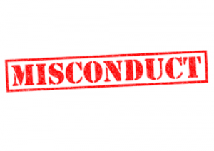 Misconduct Arrest Records